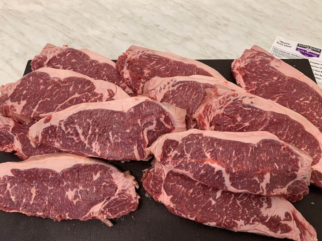Premium beef – liellopa striploins